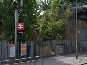 Cannock railway station. Photo: Google