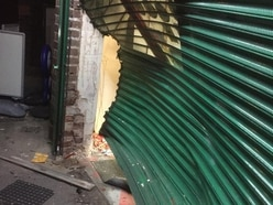 Cigarettes and booze stolen during double ram-raid in Wednesfield