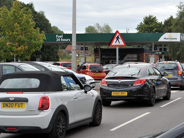 Drivers have been urged not to panic buy
