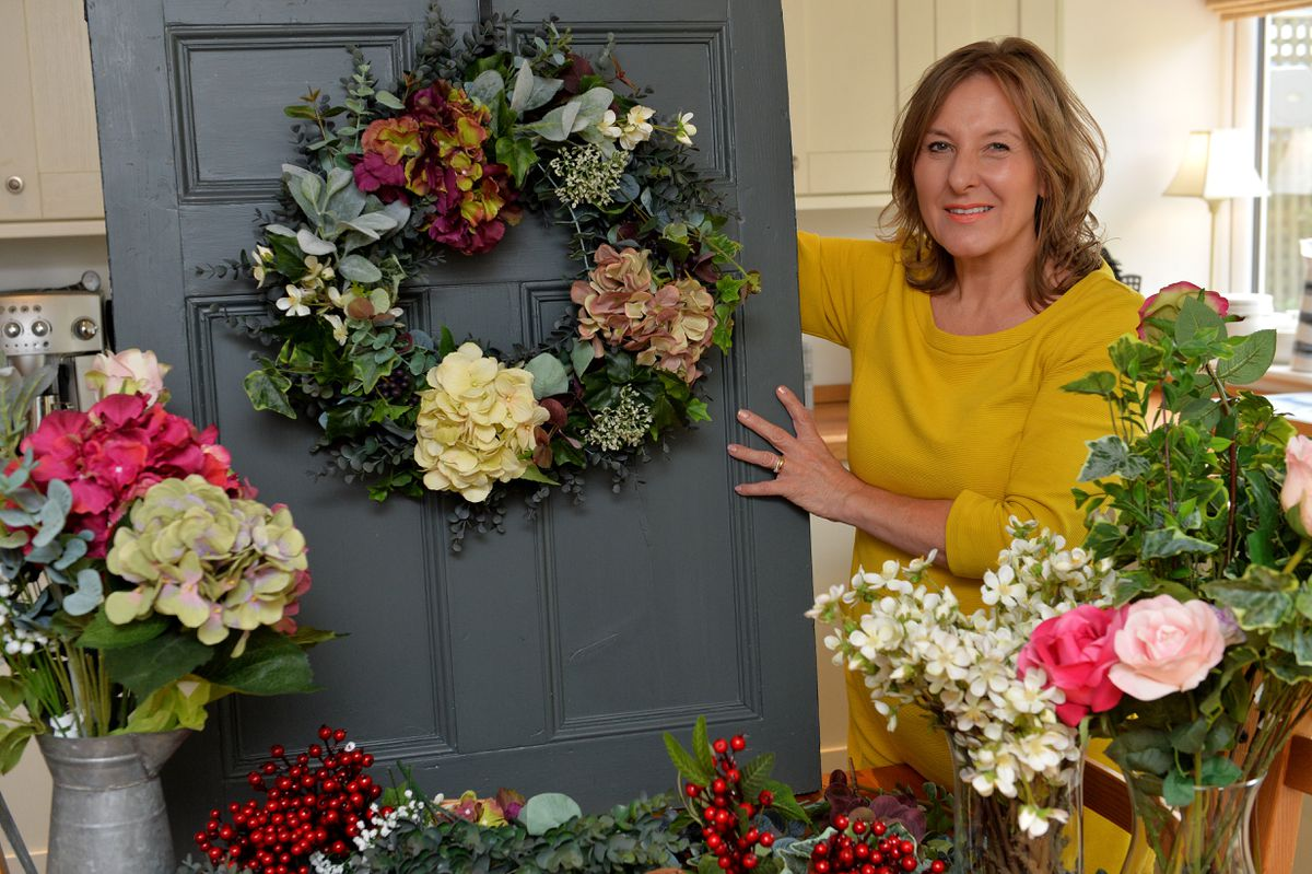 Julie believes wreaths are a symbol of devotion, love and friendship