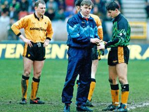 Tom Bennett has special reason to recall the Wolves-Albion derby in 1991 as he ended up in goal