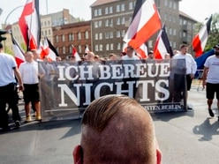 Hundreds of neo-Nazis march through Berlin