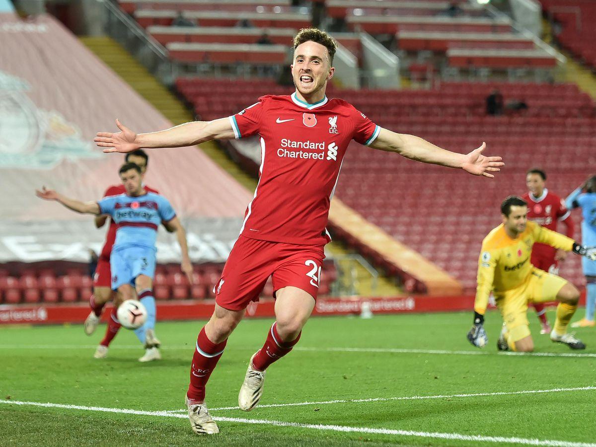 Nuno Espirito Santo was happy to see Diogo Jota make an impressive start at Liverpool