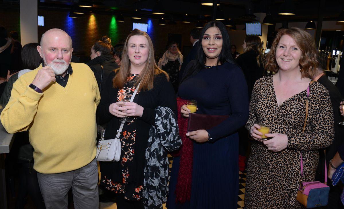 Bob Walters, Polly Walters, Neresh Dhanda and Katie Gray.