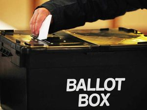 Constituents have been voting in council elections
