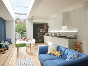 Planning boost for open plan living spaces