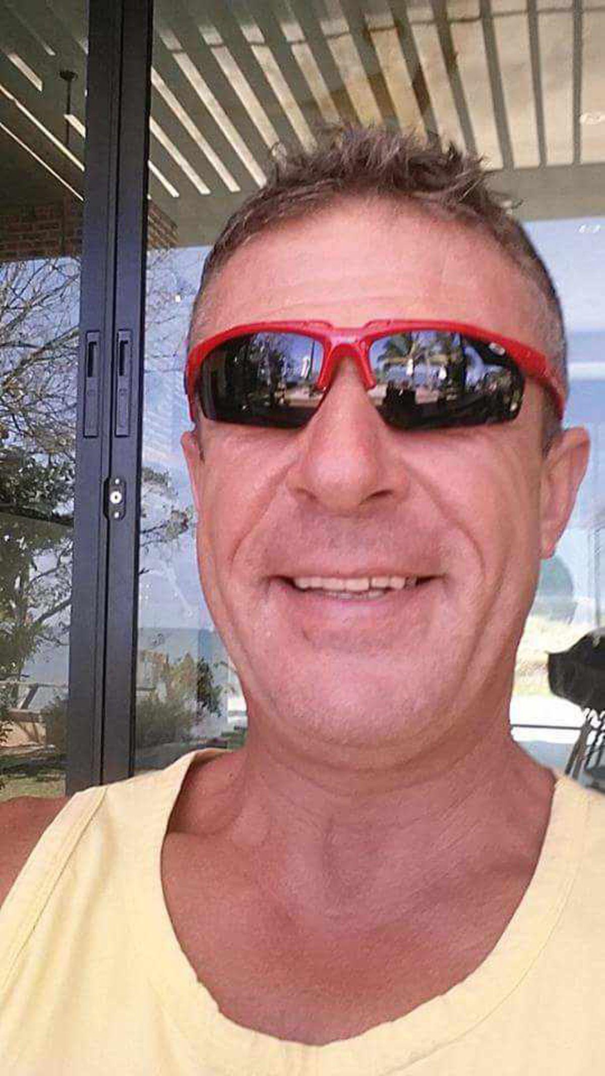 Bob pictured last summer