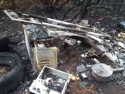 Belongings lost as homeless Wolverhampton man's tent burns down