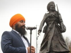 UK's first statue of South Asian WW1 soldier unveiled in Smethwick
