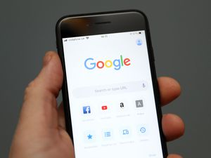 Google on a mobile