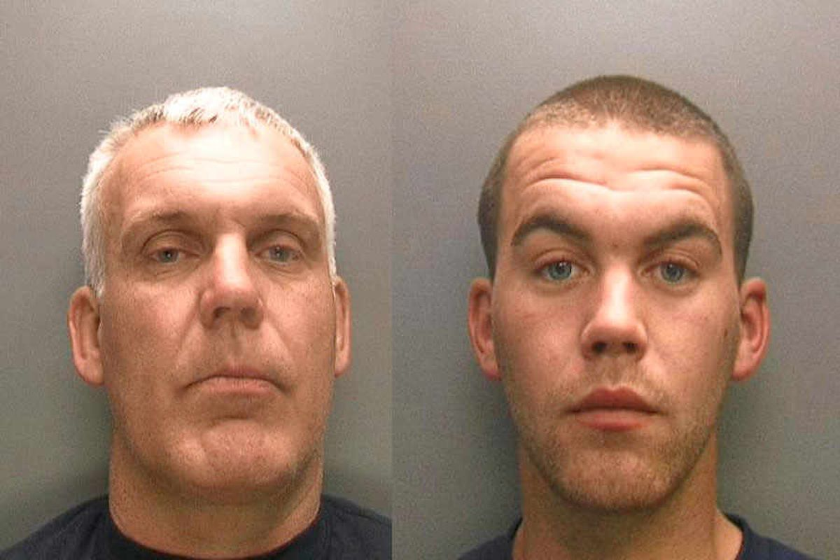 Eight years for father and son after attack left victim with life-changing injuries