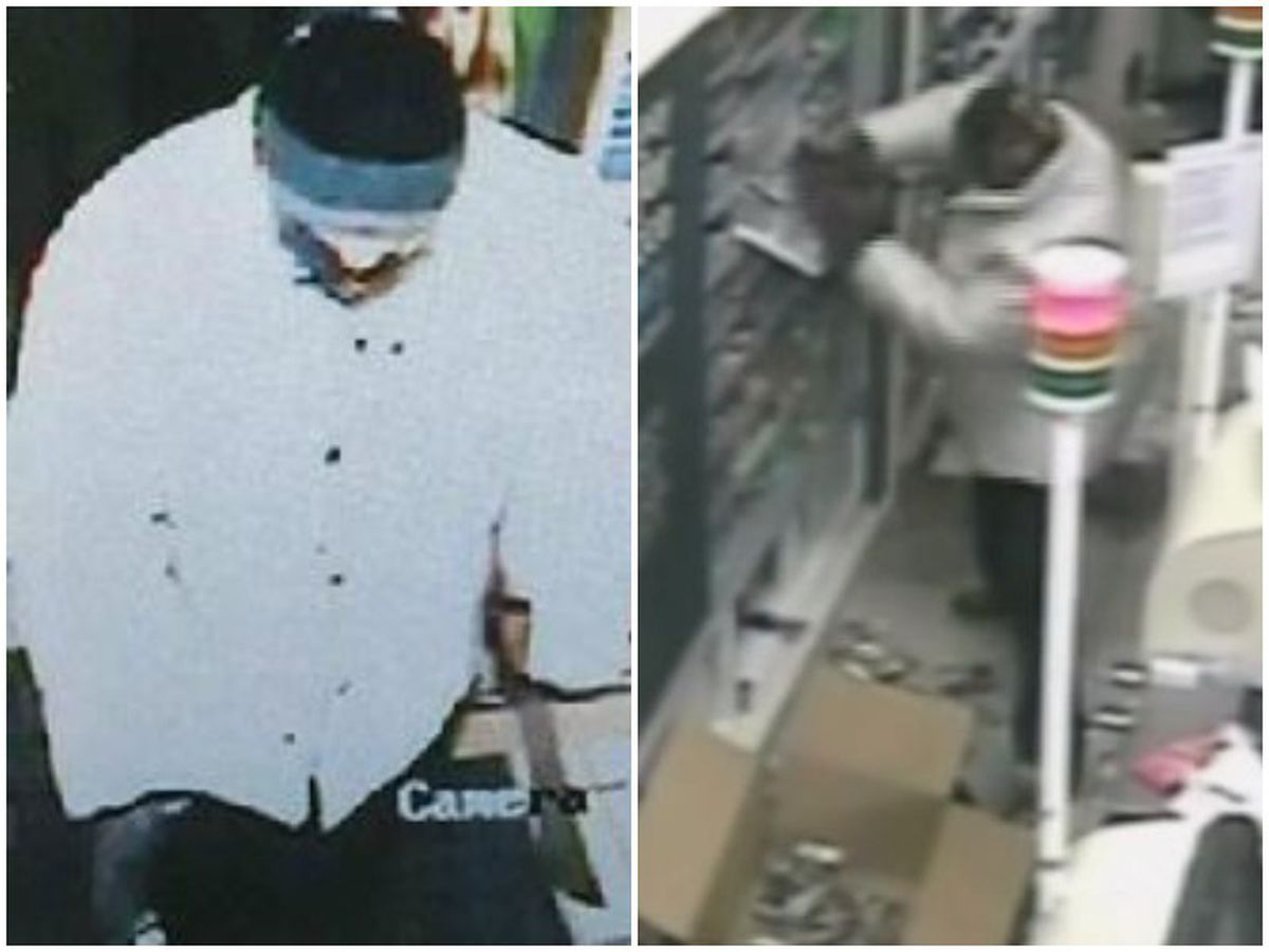 CCTV captured the robbers