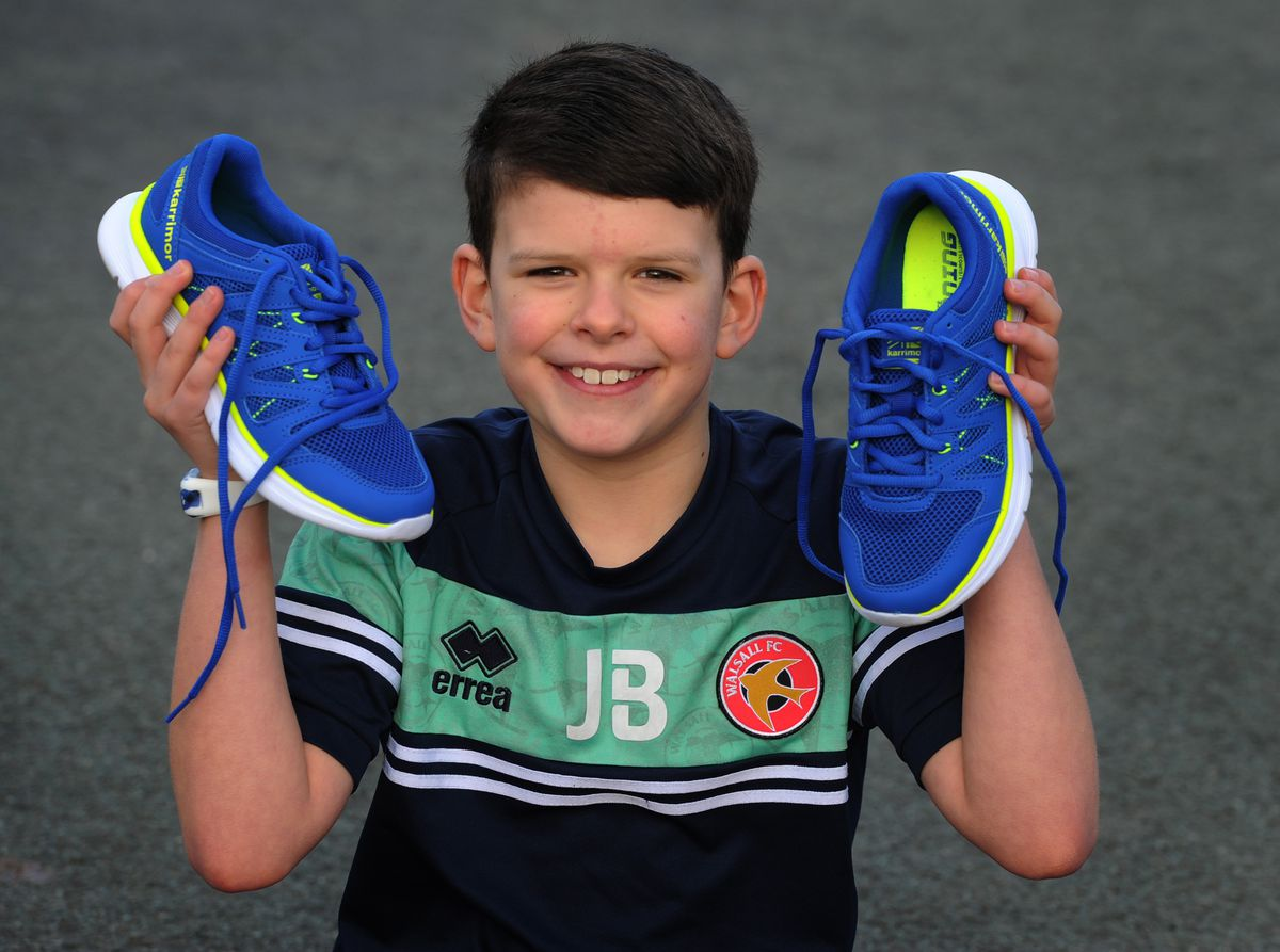 Youngster Jack Birt, aged eight, has been clocking up the miles to raise money to support the homeless
