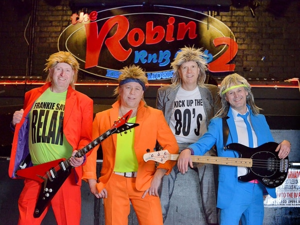 Kick up the 80s rocking at the Robin