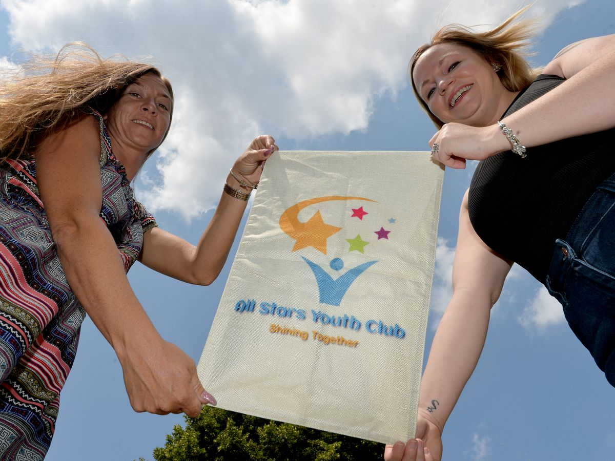 Charlotte Maher-Butler and Hayley Turner from Sedgley are doing a skydive on September 24 to raise funds All Stars Youth Club.