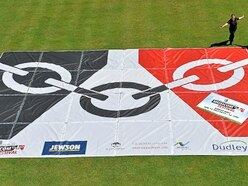 It's bostin'! Giant flag unfurled for Black Country Day