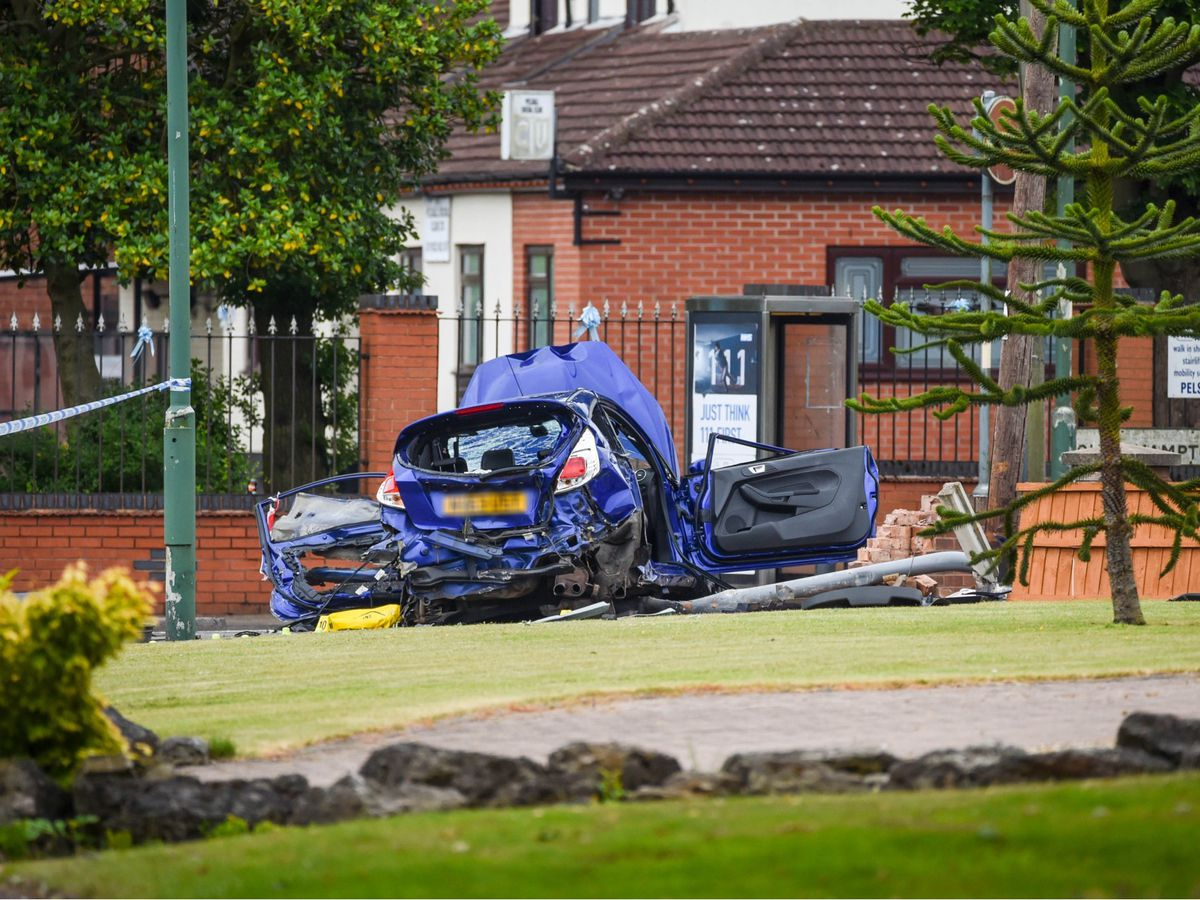 Rebeka Elkes' stolen Fiesta was involved in a fatal crash on Wednesday night in Pelsall, Walsall. Photo: SnapperSK.