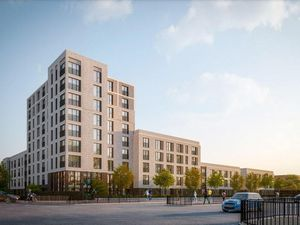 An artist impression of what the proposed apartment block will look like on Green Lane, Walsall. Photo: BM3 Architecture