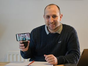 AVA founder Paul Jessop with his new robotic camera device