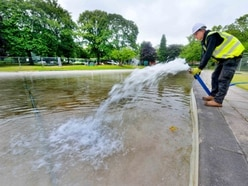 Tettenhall Pool reopening marred as litterbugs spark anger