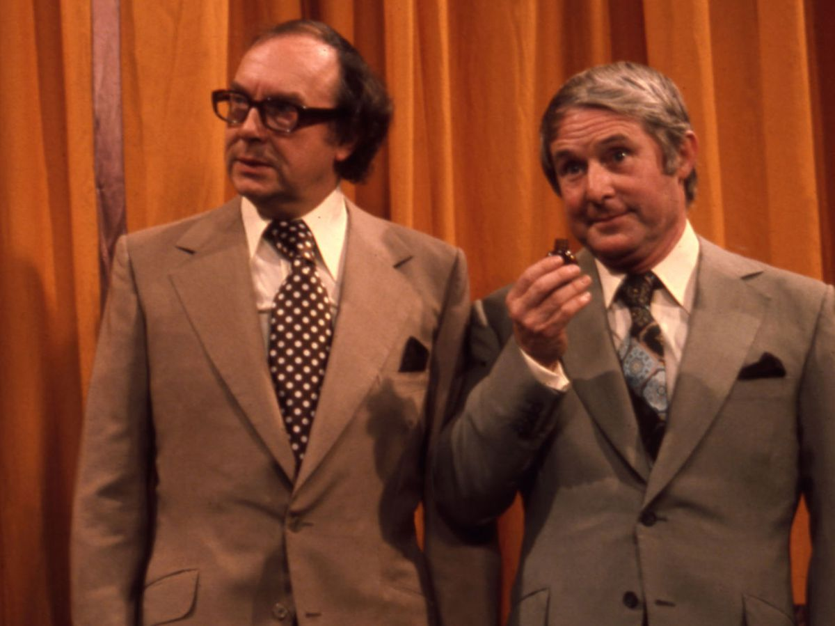 Morecambe and Wise – still making us smile