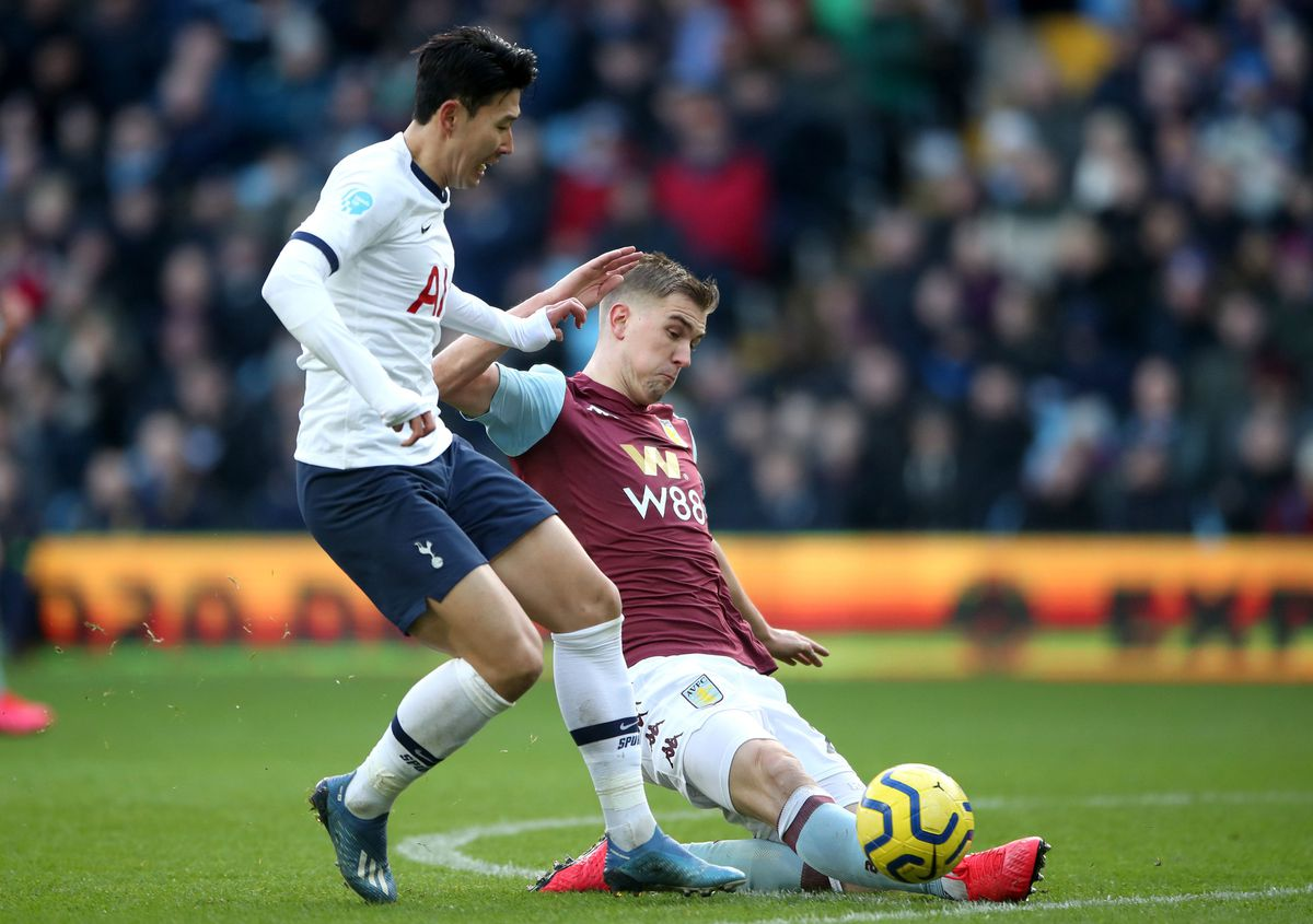 Bjorn Engels' mistake gifted Son Heung-min and Tottenham the win (Nick Potts/PA Wire)
