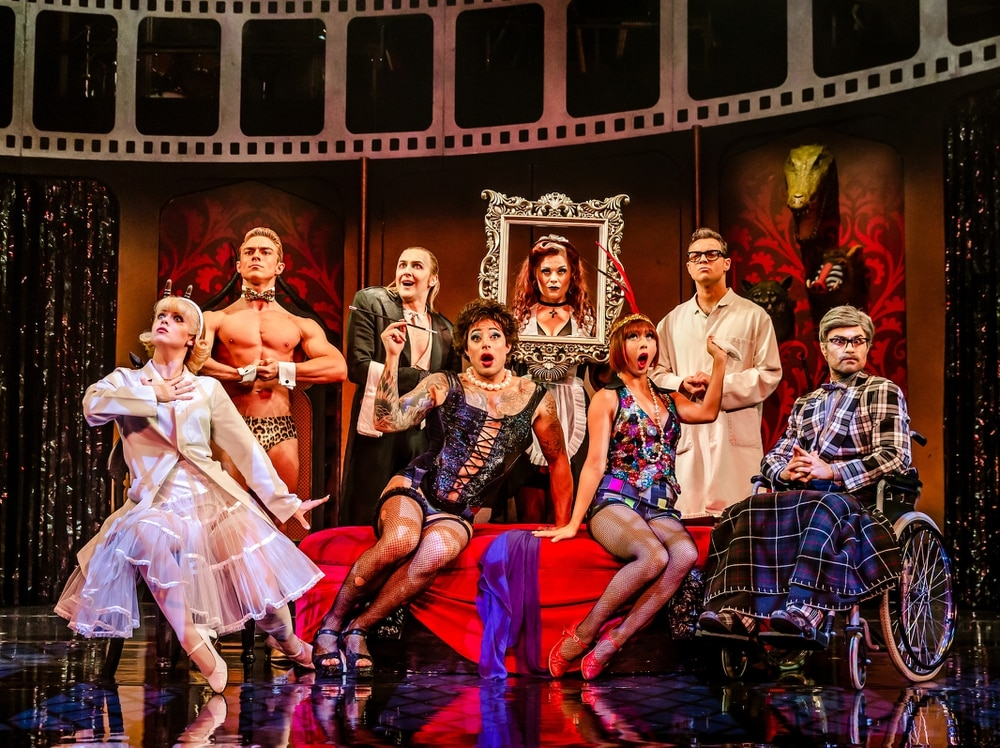 Image result for rocky horror show tour