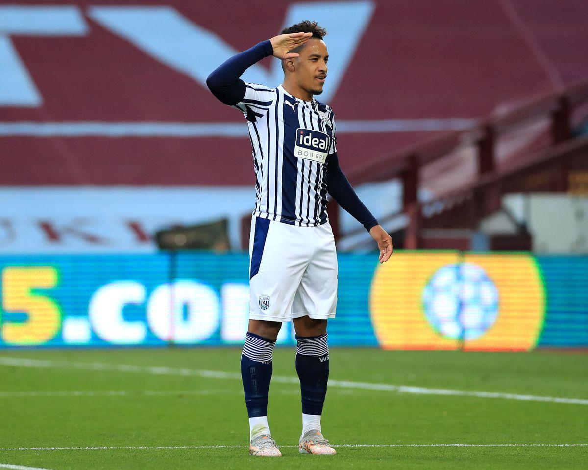 West Bromwich Albion's Matheus Pereira (AMA)