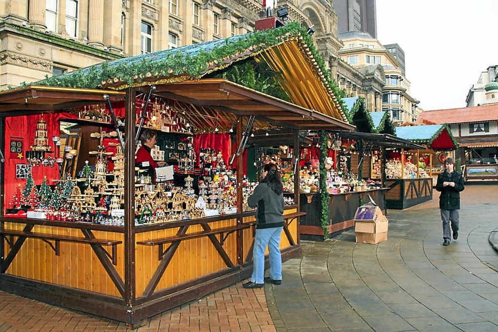 more than 190 stalls will be set up in the city centre stretching for more than one mile from the bullring all the way to the icc in centenary square as the - Birmingham Christmas Market