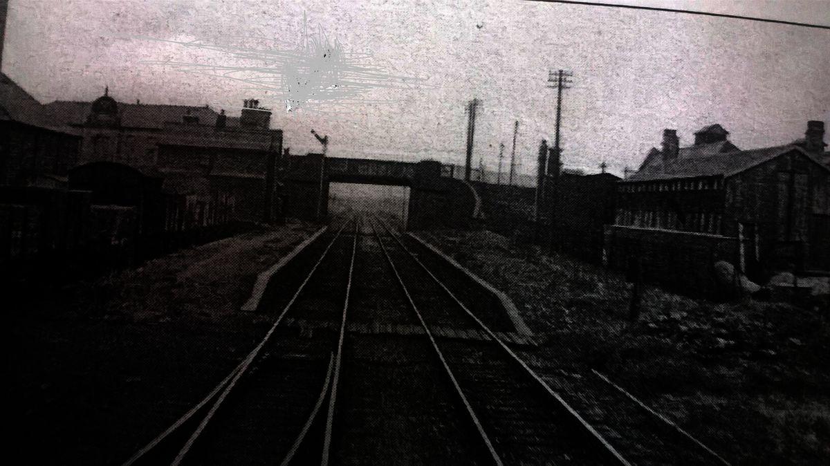 Wednesfield railway station before it was demolished