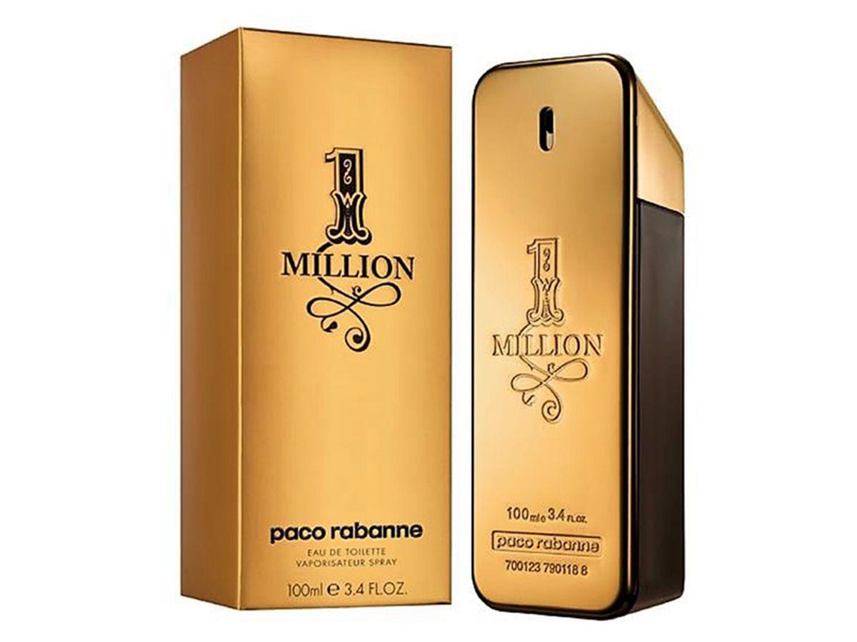 Paco Rabanne 1 Million Eau De Toilette Men's Aftershave Spray