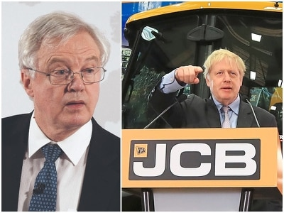 David Davis to earn £3,000 an hour in JCB role