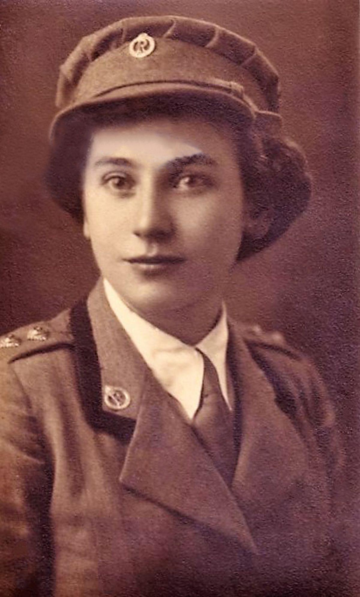 Marjorie Allen in the early 1940s