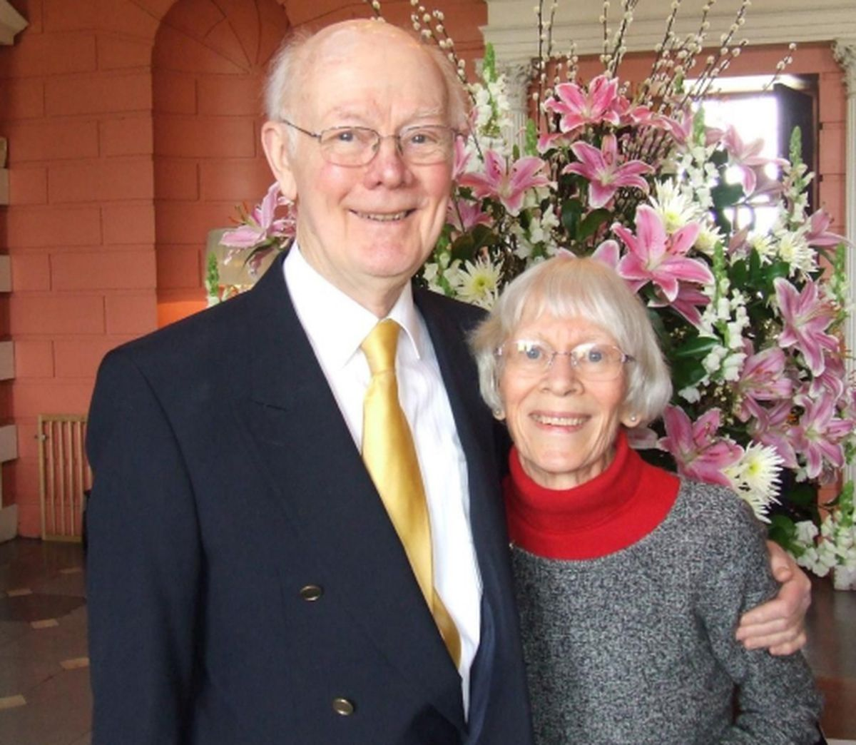Keith Cattell and his wife Orleana.