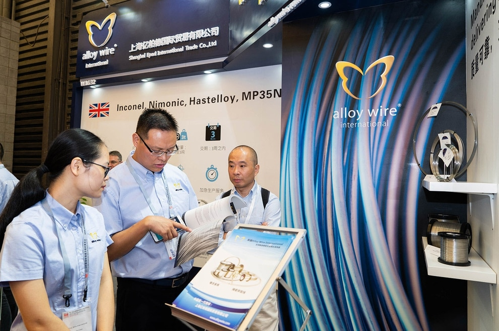 Successful Wire China debut for Alloy Wire International | Express ...