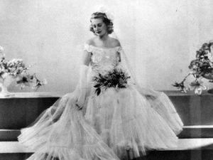 Pat as a debutante in 1938