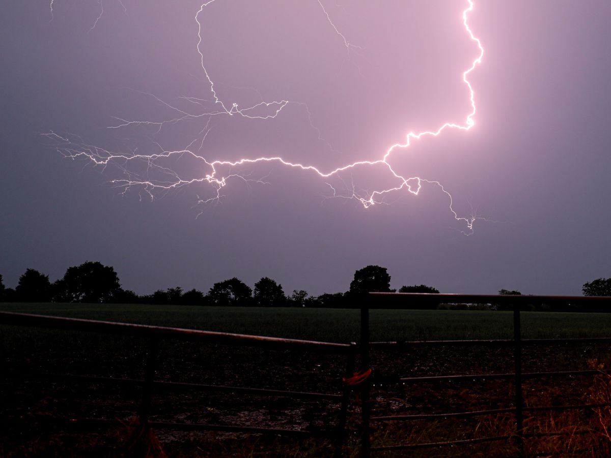 Storm warnings have been issued for parts of the West Midlands