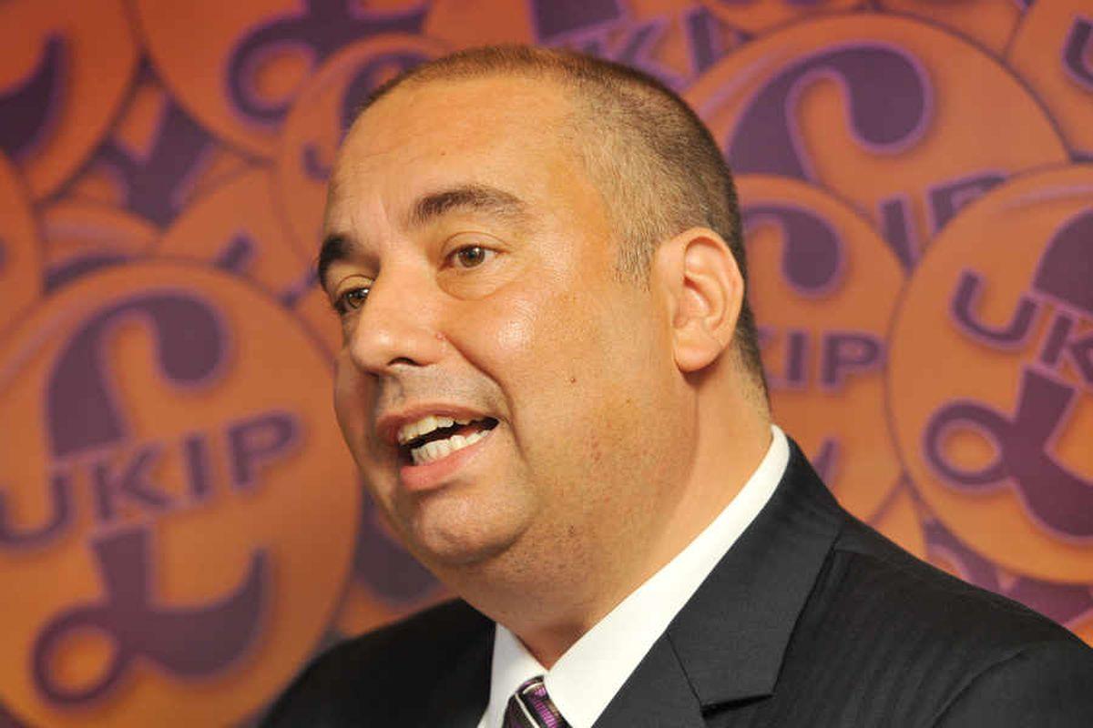 UKIP MEP Bill Etheridge bids to charge prisoners £40k-a-year under plans revealed for party leadership bid
