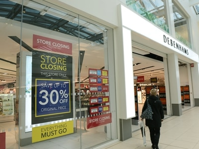 Debenhams starts closing down sale with Frasers store planning under way