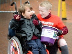Wolverhampton schoolboy completes 100-mile walk to fund life changing treatment for schoolboy