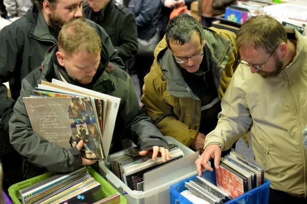 Music Fans Celebrate Record Store Day At Wolverhampton