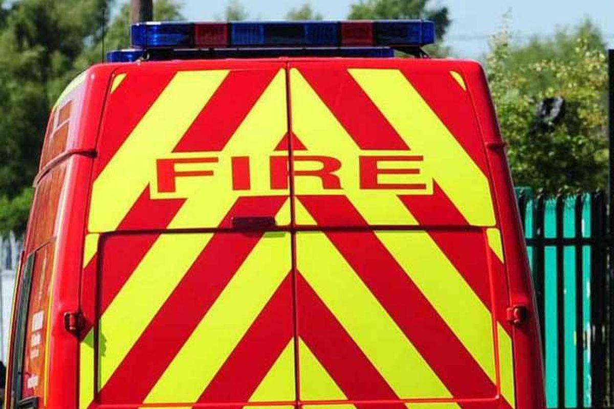 Probe after man sleeping on sofa dies in fire