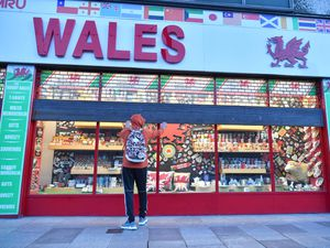 Welsh tourism store