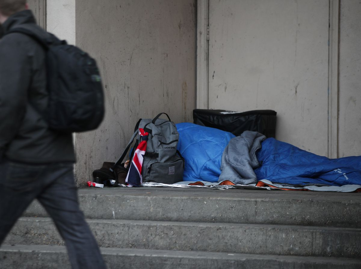 The number of rough sleepers in the Black Country has tripled since 2011