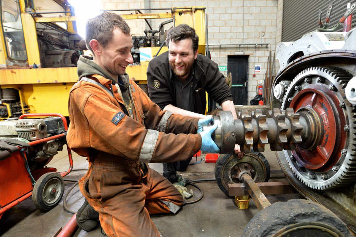 Full steam ahead as engines are restored on Staffordshire railway