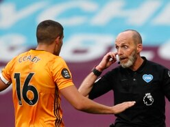 Wolves captain Conor Coady fumes at controversial penalty call