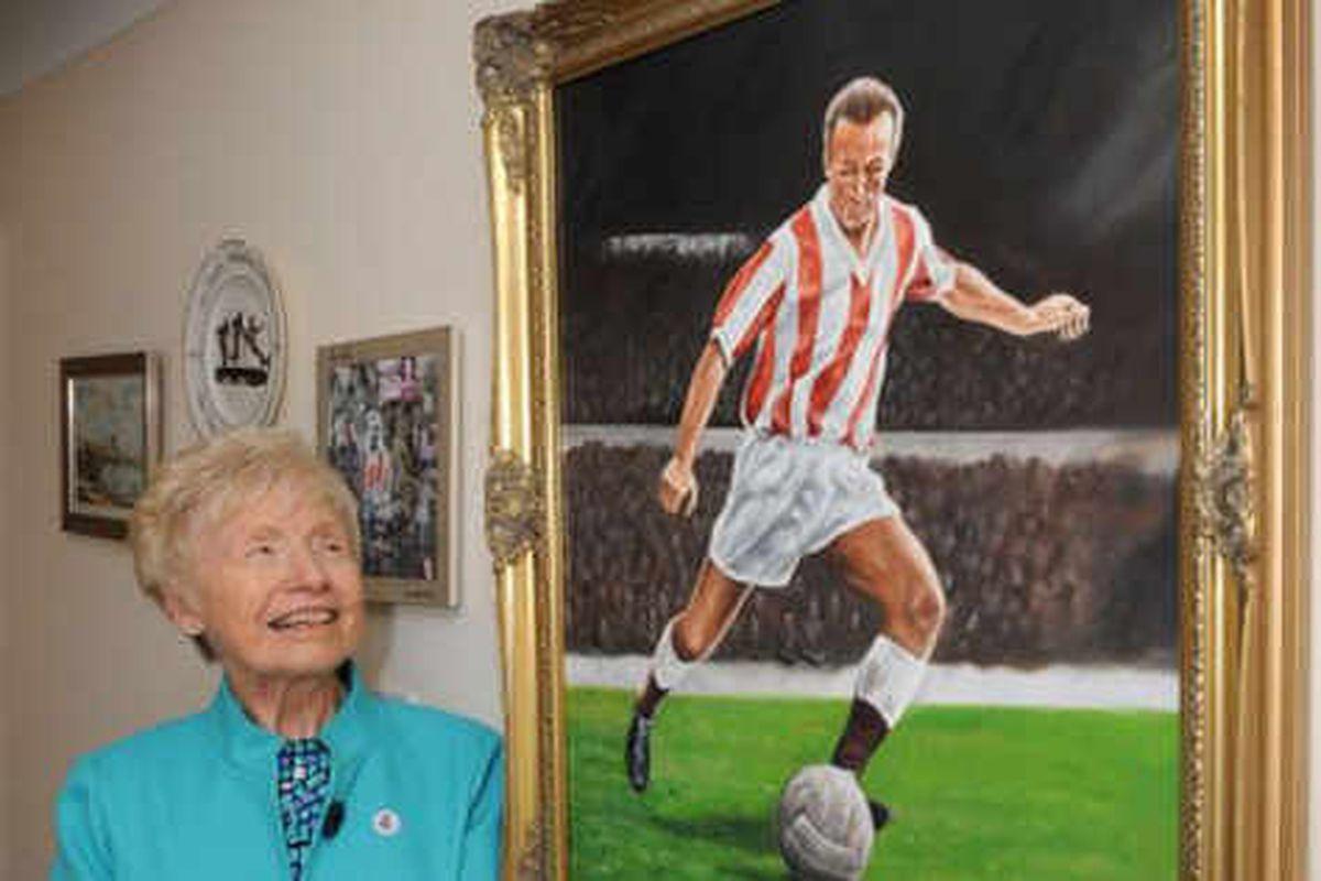 Wembley dream for Stanley Mathews' daughter Jean