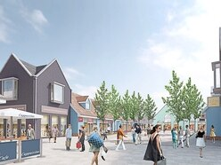 Mill Green: Bosses behind Cannock's designer outlet village pledge to invest £400k in the town