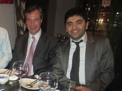 Labour candidate's allegiance questioned after dining out with Nigel Farage