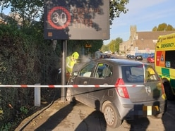 Two cars crash in Bilston